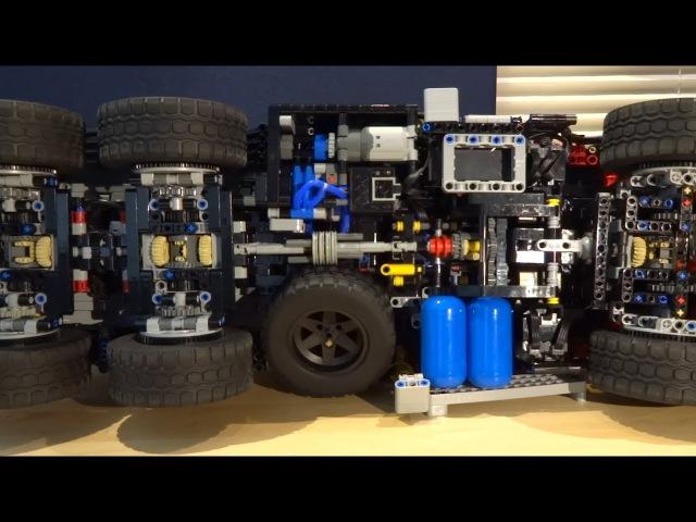 Mercedes Zetros 2733 Behind the MOC Lego Technic SBrick BuWizz