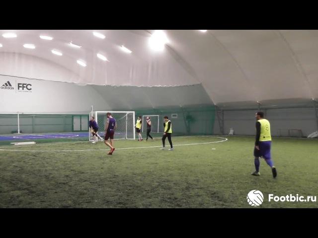 FOOTBIC.RU. Видеообзор 13.10.2017 (Метро Марьина Роща). Любительский футбол