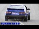 3SGTE turbo AE86 circuit car takes on Mallala