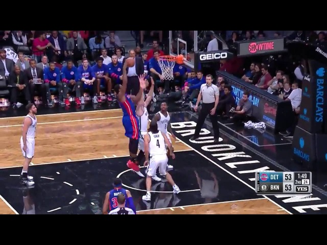 Andre Drummond Highlights vs Nets - 17pts, 21reb in 24min