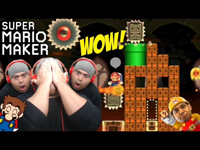 THE BULLSHT NEVER F%KING ENDS!! [SUPER MARIO MAKER] [67]