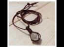 天然石包み編みネックレスの作り方