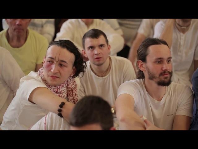 Спектакль на Гаура Пурниму 2 2017 год