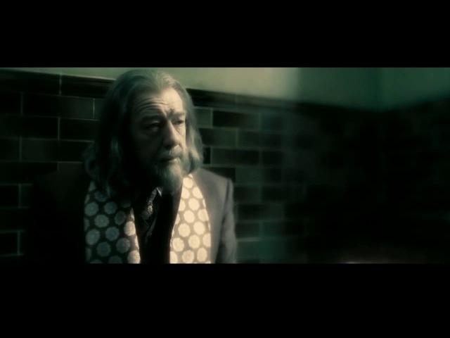 Первая встреча Даблдора и Тома Реддла из фильма
