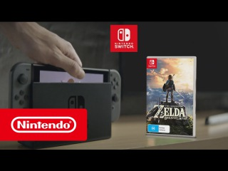 Nintendo Switch - The Legend of Zelda Breath of the Wild TVC