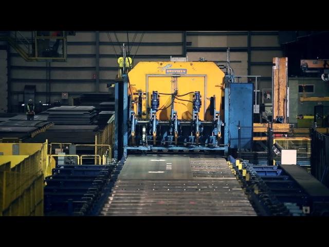 NLMK Clabecq Quard and Quend production