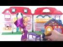 МашаиМедведь мультики с игрушками - Маша объелась сладостей!