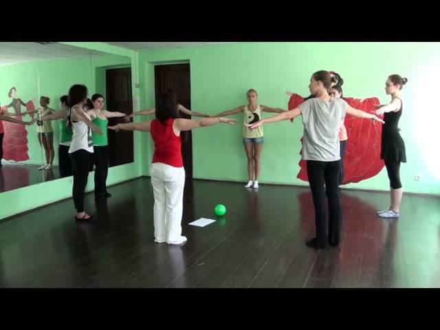 Первое занятие по хореографии для дошкольников. С чего начать, как его провести? Выпуск 5