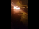 В Самаре ранним утром на Карбышева полыхала Audi