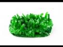 Видеообзор на выращивание кристаллов Алхимик. Зеленый кристалл.