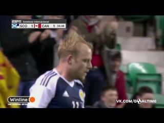 Шотландия - Канада 1:1. Стивен Нейсмит