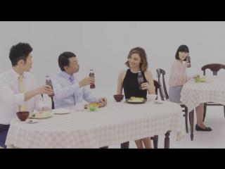Рекламные кампании | Миранда Керр в рекламе чая Kuro Black Oolong Tea