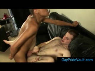 Gay thug is fucking his friends hairy butthole