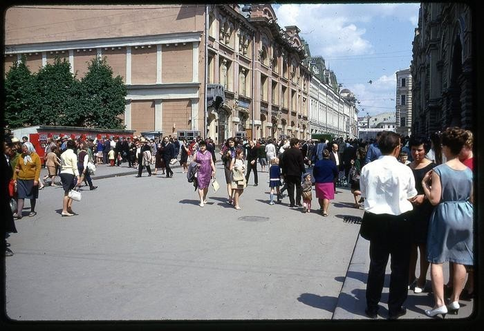 СССР 60-х годов прошлого века глазами интуриста