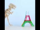 Эйфелева башня с помощью 3д ручки