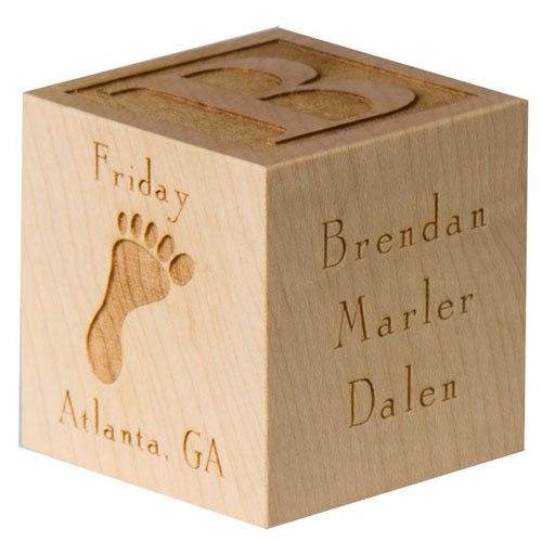 Бизнес идея: Деревянный кубик на рождение и крещение ребенка Что обы