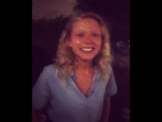 Naomi Battrick (instagram Steven Waddington) behind the scenes video (1)