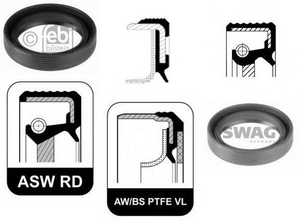 Уплотняющее кольцо, коленчатый вал; Уплотнительное кольцо для AUDI ALLROAD (4BH, C5)