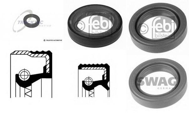 Уплотняющее кольцо, коленчатый вал; Уплотняющее кольцо, распределительный вал; Уплотняющее кольцо, промежуточный вал для AUDI ALLROAD (4BH, C5)