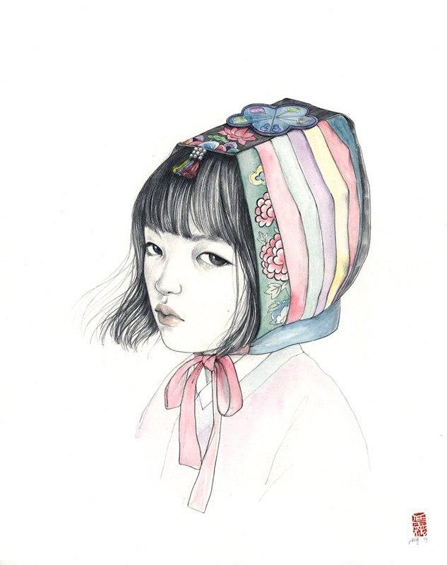 XJLGCS0ROZw - Картины корейской художницы Стеллы Им Халтберг