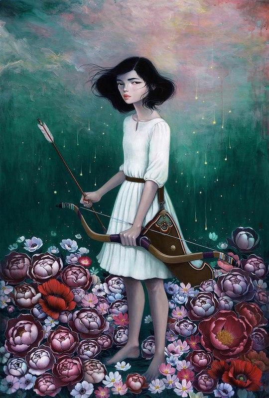 GTGH9ziFN60 - Картины корейской художницы Стеллы Им Халтберг