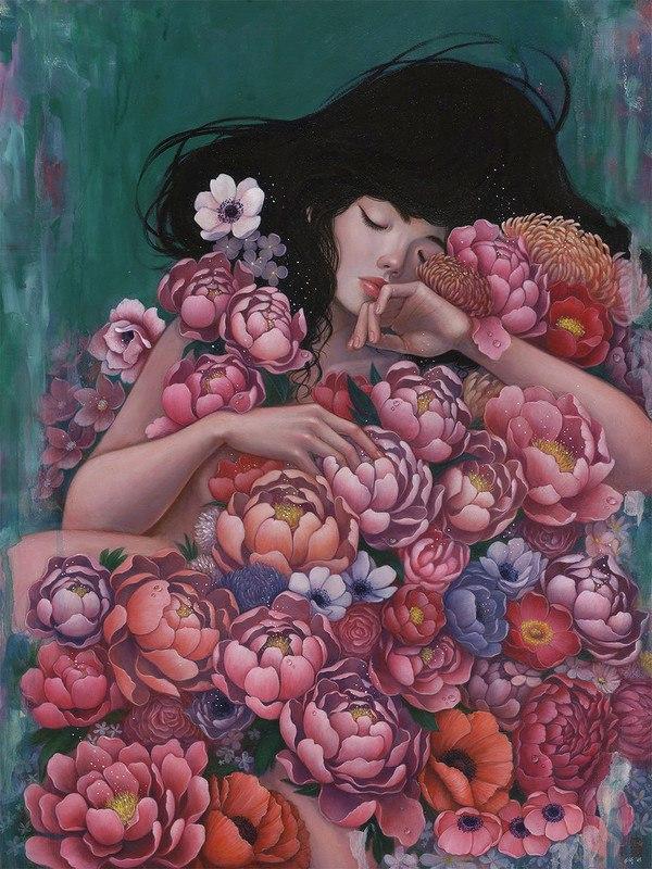 H4mhV 5aviM - Картины корейской художницы Стеллы Им Халтберг