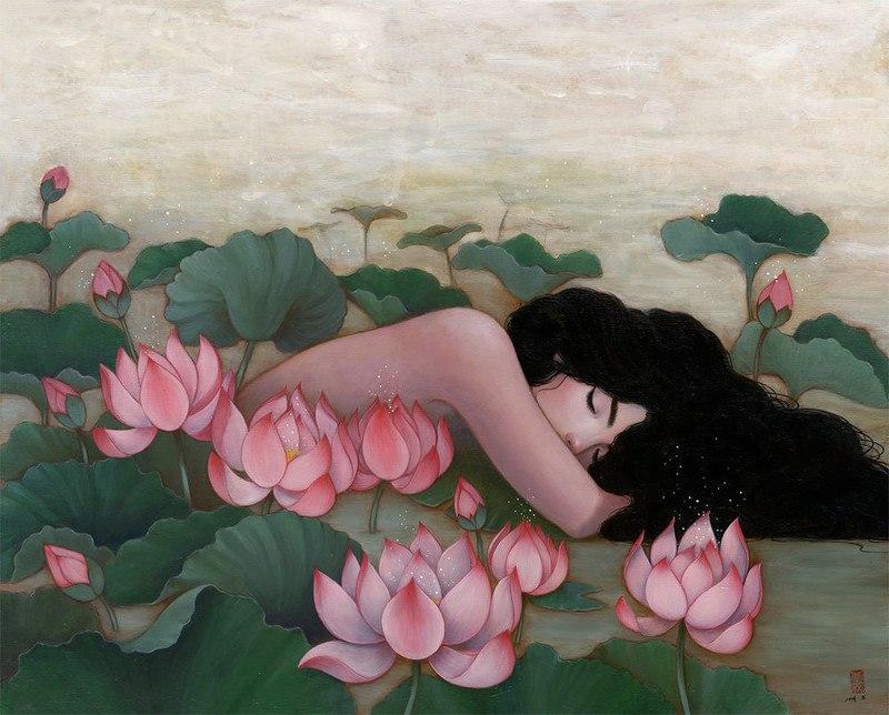 1J6Xo4 DSdQ - Картины корейской художницы Стеллы Им Халтберг