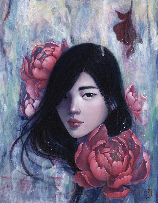 brdU B0m2Hc - Картины корейской художницы Стеллы Им Халтберг