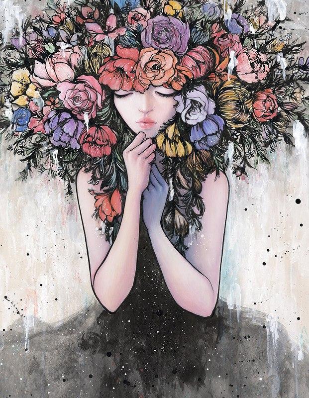 3z0KBtxHV0I - Картины корейской художницы Стеллы Им Халтберг