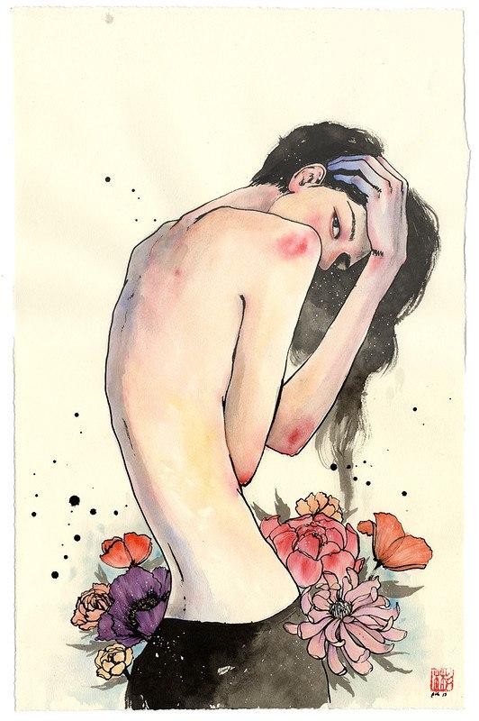 ukK6JhbmCEk - Картины корейской художницы Стеллы Им Халтберг