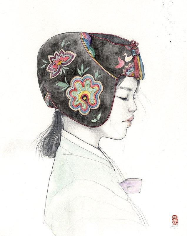 73iNG02xkcY - Картины корейской художницы Стеллы Им Халтберг