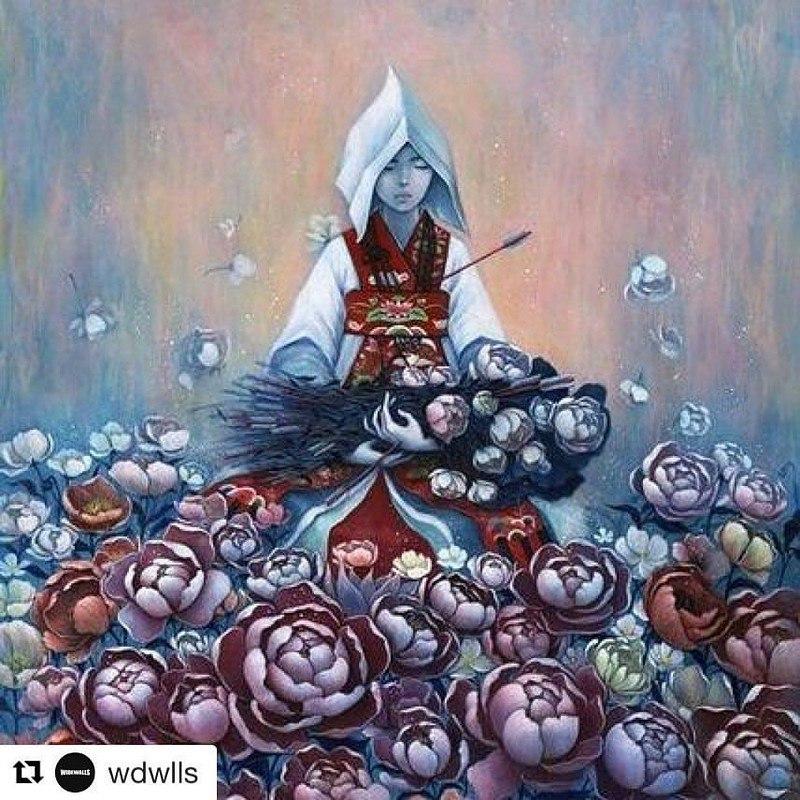 Картины корейской художницы Стеллы Им Халтберг