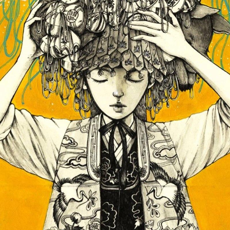 v6AGJwph3AE - Картины корейской художницы Стеллы Им Халтберг