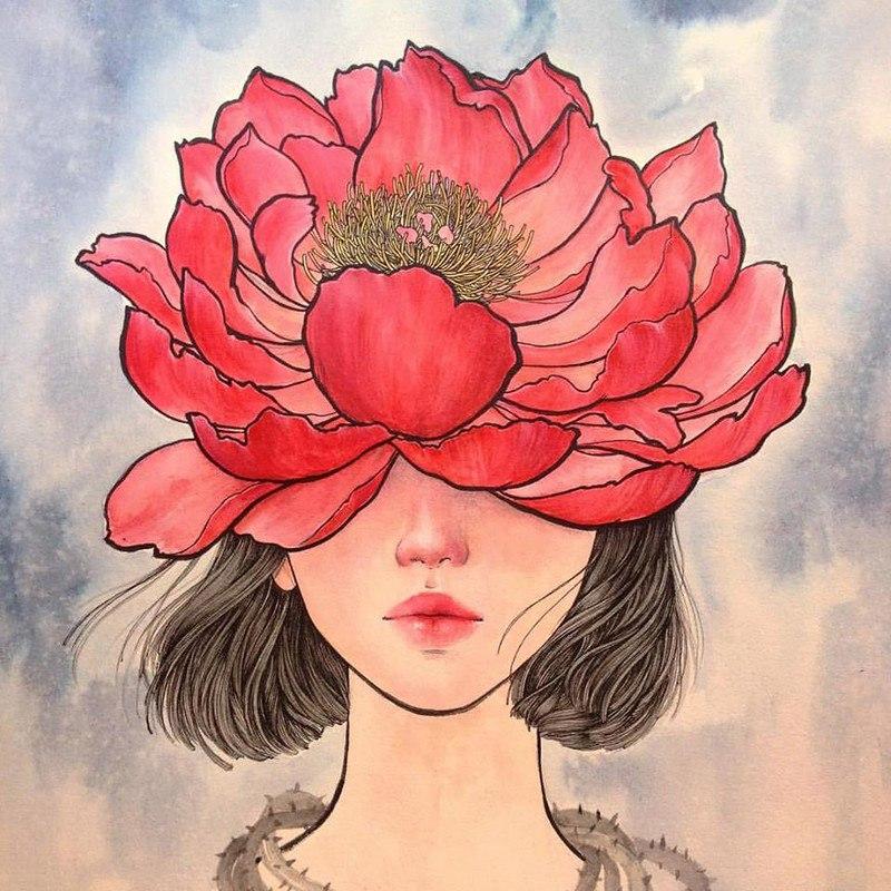 zrD82OLp0QA - Картины корейской художницы Стеллы Им Халтберг