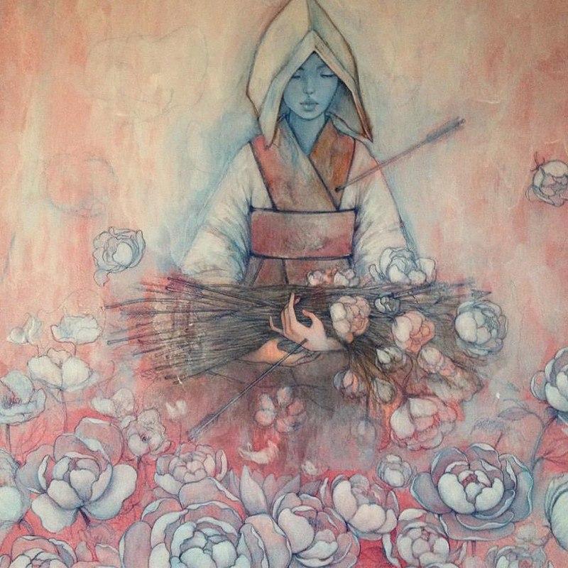 xfdEe5imW M - Картины корейской художницы Стеллы Им Халтберг