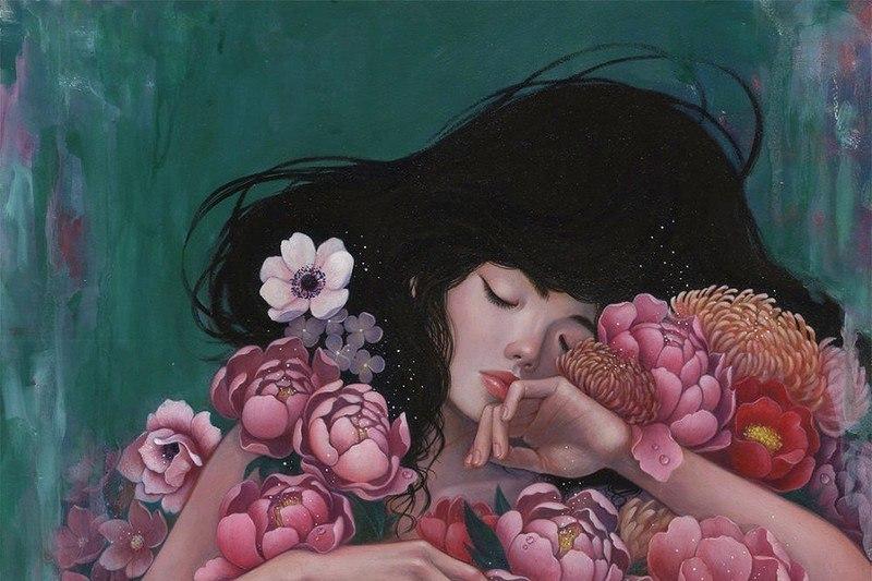 L8VjfQg8r5A - Картины корейской художницы Стеллы Им Халтберг