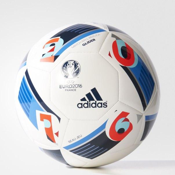 Футбольный мяч UEFA EURO 2016Glider