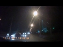 11.11.17 вечернее ДТП на перекрёстке Посадская - Белореченская в Екатеринбурге. Красный Порш не поделил дорогу с трамваем.