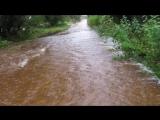 Последствия дождя 23-24 августа 2017 г. в д. Станкеево