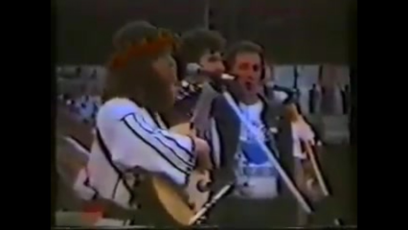 Перше публічне виконання гімну Украіни. Чернівці, вересень 1989 року.