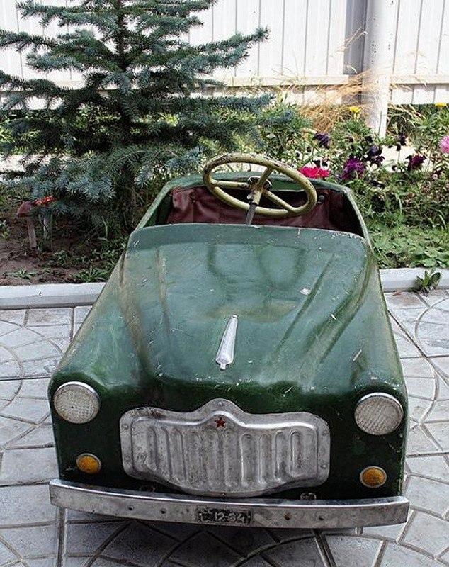 Педальные детские машины СССР