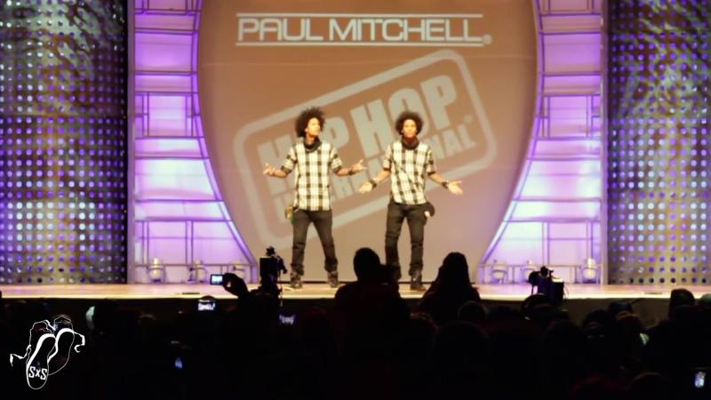 Les Twins - World Hip Hop Dance Finals 2013 - SXSTV