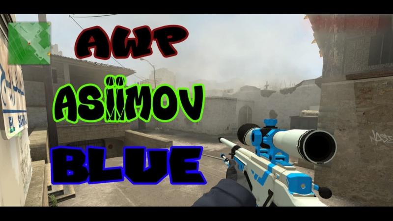 AWP BLUE ASIMOV AND AK-47 CLAWS