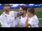 Isco Second Goal Real Madrid vs Espanyol 2-0 1-10-2017
