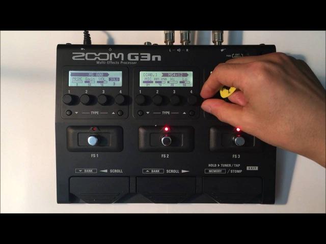 Zoom G3n G3Xn Marshall JCM800