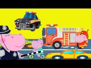 Детский полицейский участок Гиппо Пепы/Children's police station, Hippo Pepa's мультик игра