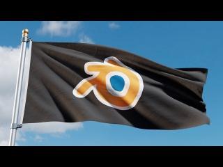 Blender Tutorial: Animated Flag