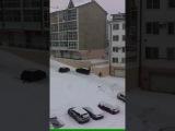 День жестянщика в  Иркутске или зима вернулась