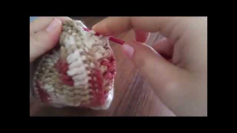 вязание крючком домашние тапочки