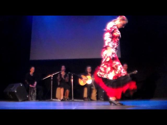 Концерт Ensueno Andaluz 25.04.17. в Арт-кафе Дуровъ. Юлия Пламс.